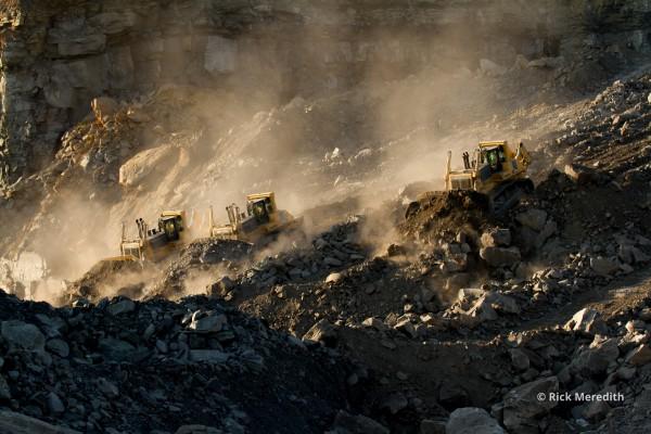 Dozers, Coal Mine